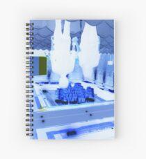 Looking Down On Metropolis  Spiral Notebook