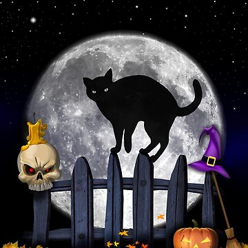 halloween cat by studenna