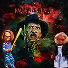 Halloween party invitation.Humor. by andy551