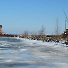 Port Credit Harbour In Winter by mcworldent