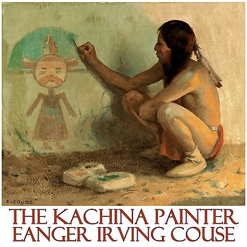 The Kachina Painter by Eanger Irving Couse by Chunga