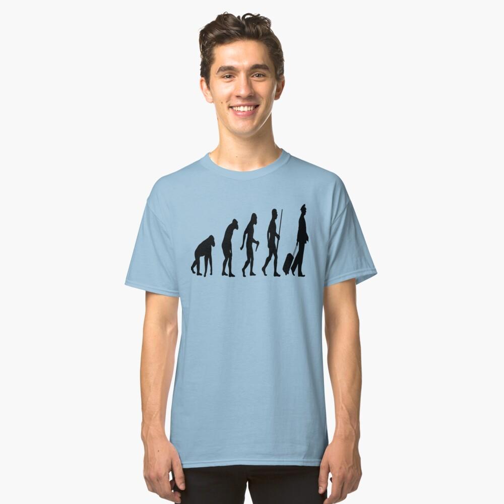Evolution Pilot Classic T-Shirt Front