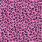 Pink Cheetah Skin Print by ironydesigns