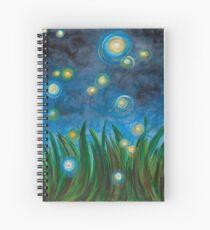 Fireflies Spiral Notebook