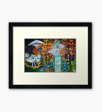 Midnight Transfer Framed Print