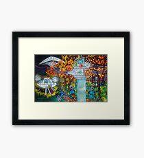 Midnight Transfer Framed Print