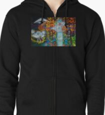 Midnight Transfer Zipped Hoodie