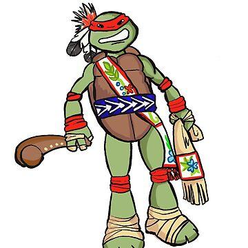 Warrior turtle  by mylittlenative