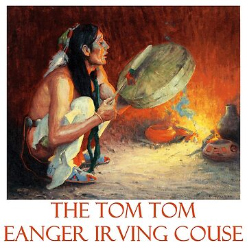 The Tom Tom by Eanger Irving Couse by Chunga