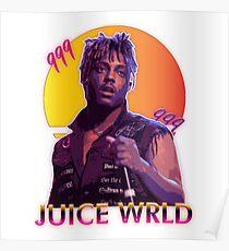Póster Jugo WRLD 80s