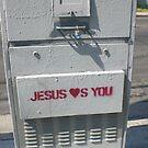 jesus was here by Jessica Ferris