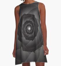 Tech-spiral Art A-Line Dress