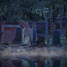 Graveyard in Moonlight by TJ Baccari Photography