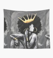 Naturally Queen V Wall Tapestry