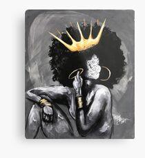 Naturally Queen V Metal Print