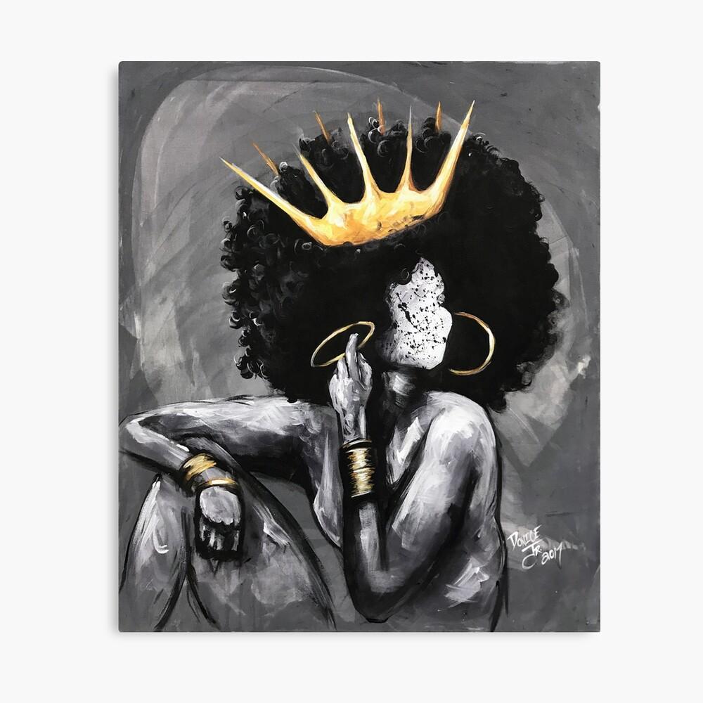 Naturally Queen VI Canvas Print