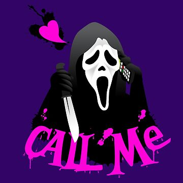 Call me, Ghostface! by CruceJ
