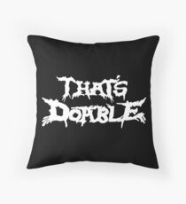 That's Doable Throw Pillow