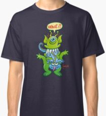 Big monster eat little monster Classic T-Shirt