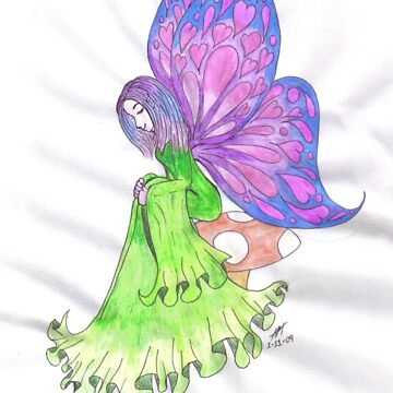 Fairy of Happy Memories  by Hellz