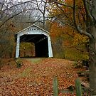Autumn Covered Bridge by Grinch/R. Pross