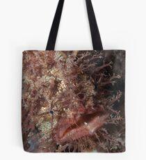 Tasseled Anglerfish. Tote Bag