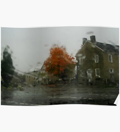 Through the Raindrops Poster