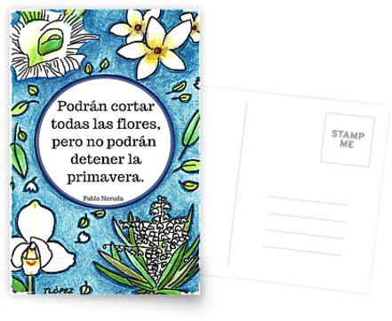 No Podrán Detener La Primavera by Tracy Lopez