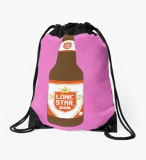 """La Botella"" Lonestar Beer Loteria Drawstring Bag"