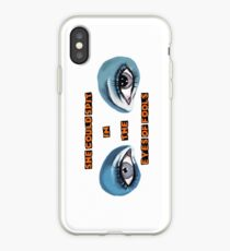 She Could Spit in the Eyes of Fools iPhone Case