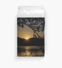 First Light in the Ozarks Duvet Cover