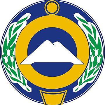 Karachay Cherkessia #Coat Of Arms #Karachay #Cherkessia #CoatOfArms by znamenski