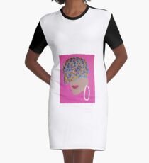 Amaya Graphic T-Shirt Dress