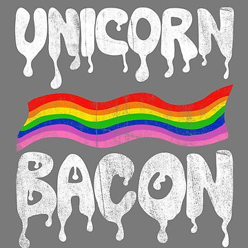 Unicorn Bacon by notsniwart