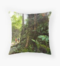 Sapo National Park Throw Pillow