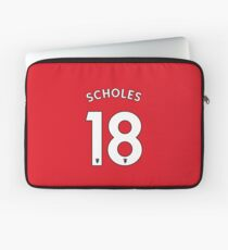 Paul Scholes - Manchester United Design | Phone & iPad Case | T Shirt | Mugs & more Laptop Sleeve