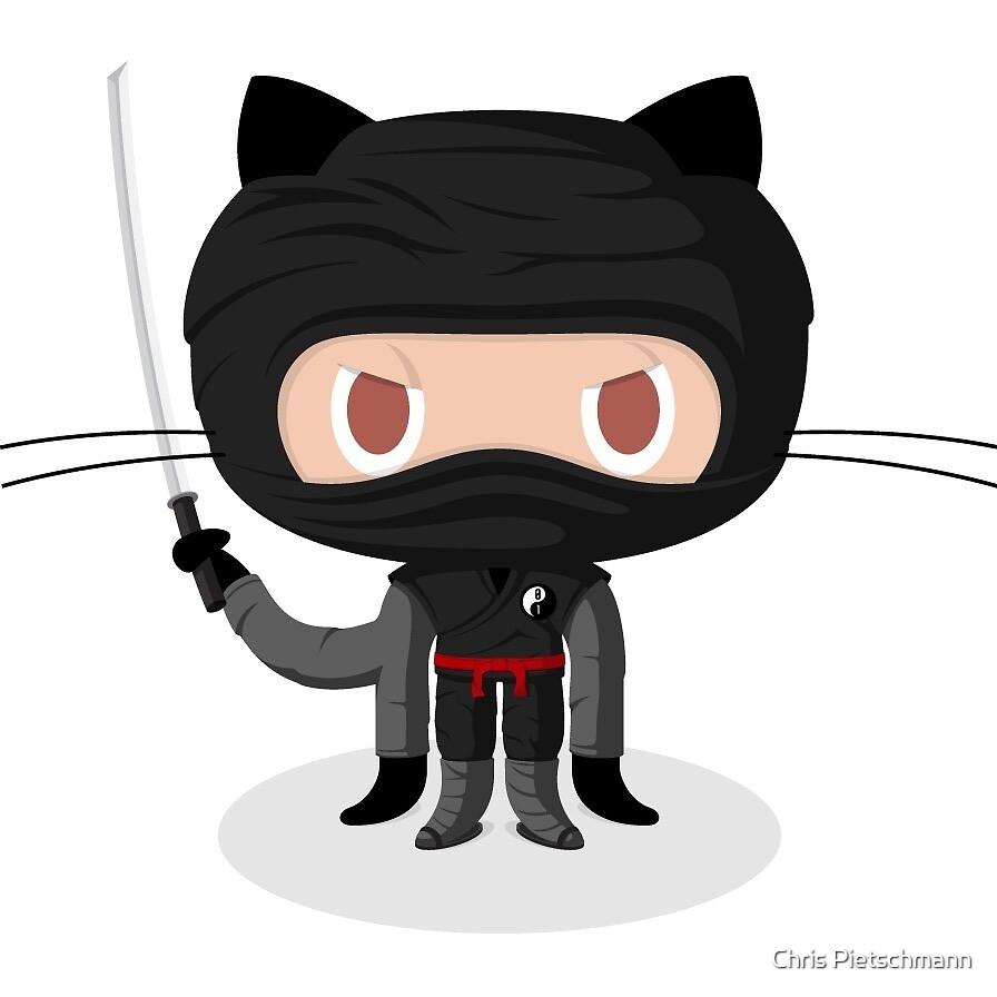 Dojocat Octocat Ninja Github