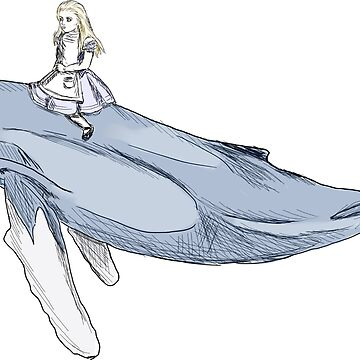 Alice and the Whale by MandyEych
