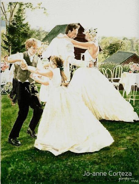 The Wedding by Jo-anne Corteza