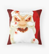Have a Scary Xmas card Throw Pillow