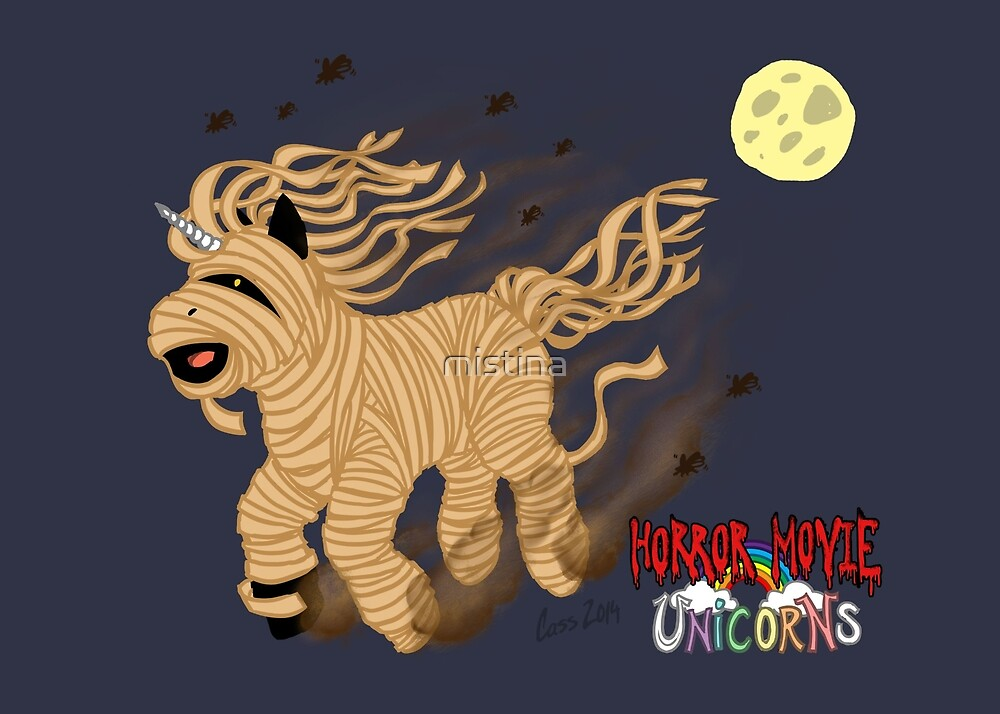 Horror Movie Unicorns: Mummy by mistina