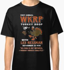 First-annual-WKRP-Turkey-drop Classic T-Shirt