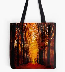 Tunnel of Fall Tote Bag
