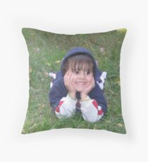 Enjoying Life, Come What May... Throw Pillow