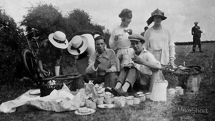 Quot 1920 S Picnic In Gloucestershire Quot By Mikeshort Redbubble