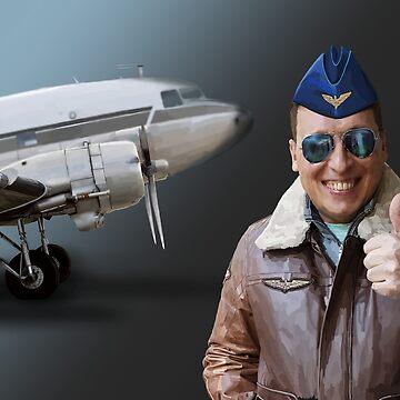 Pilot DC-3 by sibosssr