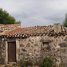 Italian Cottage on pre-historic site, Sardinia by Alex Bonner