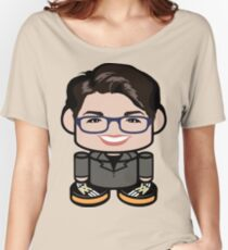 Ol' Dirty Baathist (ODB) Politico'bot Toy Robot 1.0 Women's Relaxed Fit T-Shirt