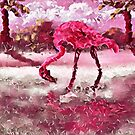 PINK ON PINK by WhiteDove Studio kj gordon