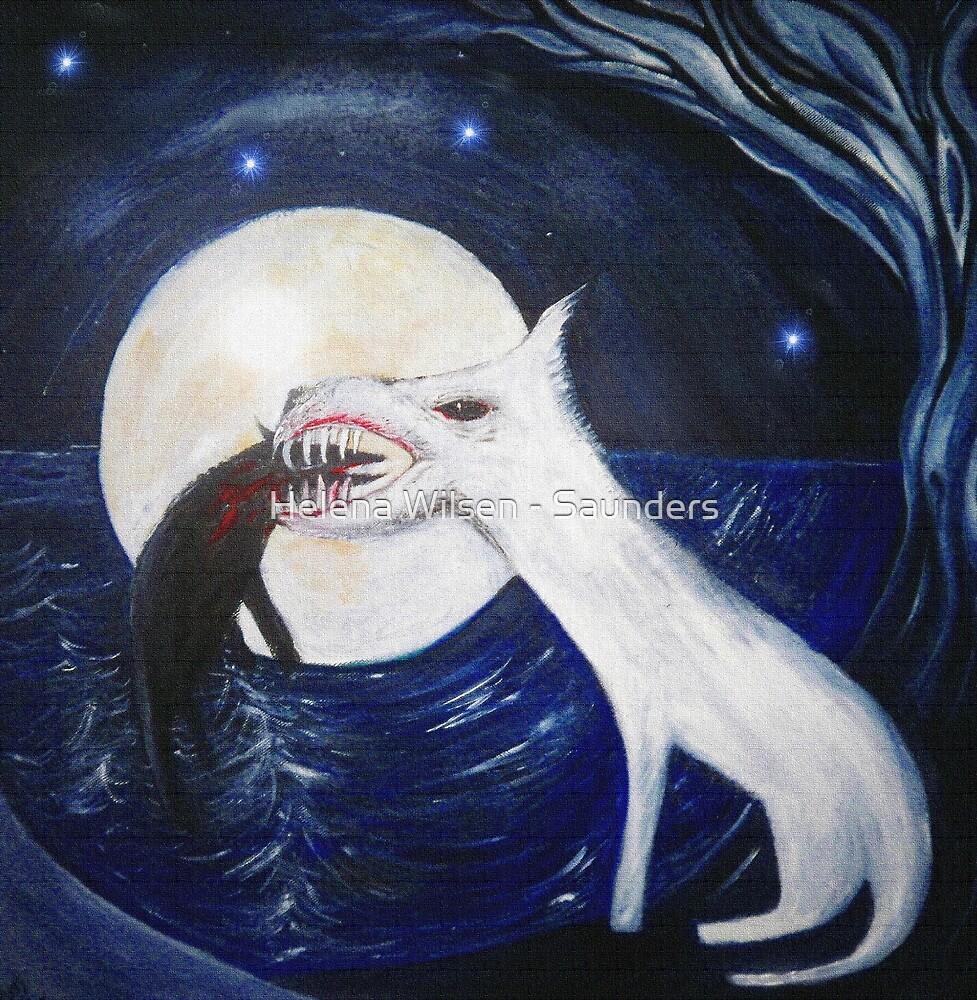 White Dog v Black Dog by Helena Wilsen - Saunders